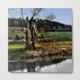 Alter Baum Metal Print