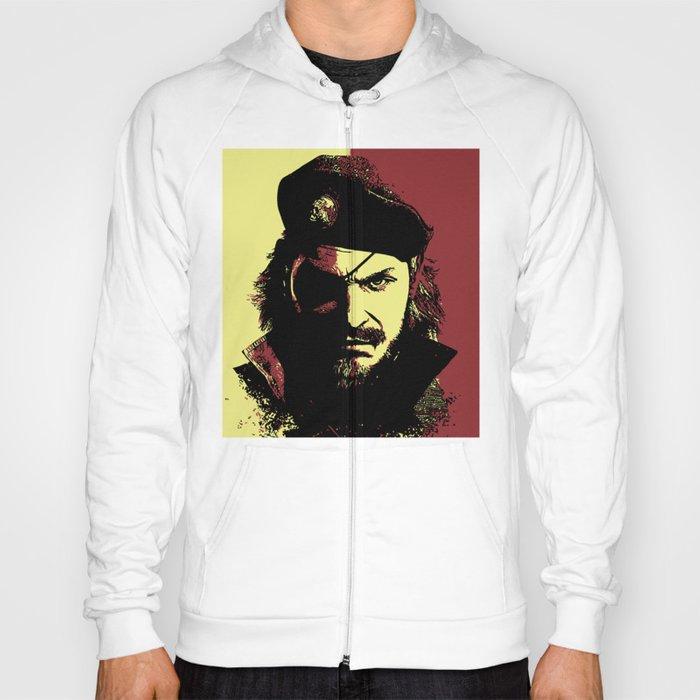 Big Boss Naked Snake From Metal Gear Solid Hoody By Outerheaven  Society6-6312