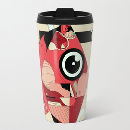 Fish and Squirrel Travel Mug