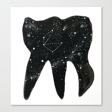 Cosmic Tooth Canvas Print