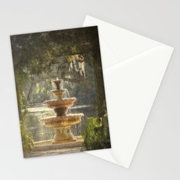 Fountain at the Pergola Stationery Cards