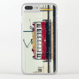 Tram number 6   Electrico 6. Lisboa, Portugal Clear iPhone Case