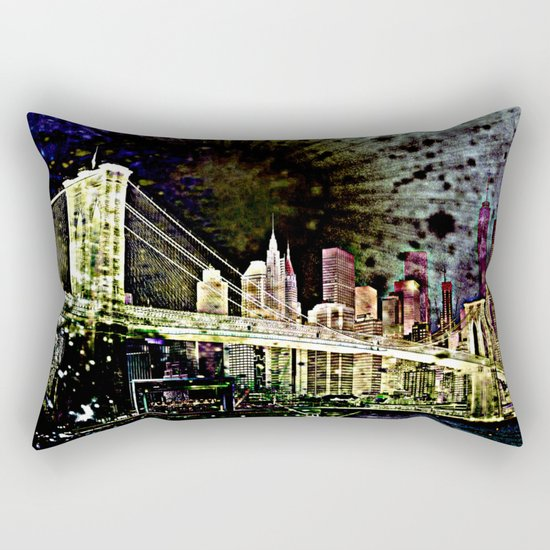 bridge of the universe Rectangular Pillow