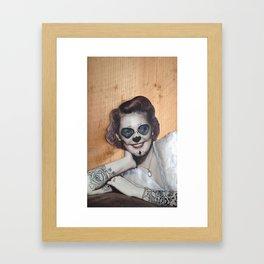Loretta Framed Art Print