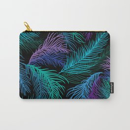 Multicolored palm leaves Carry-All Pouch