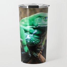 Waxy Monkey Frog, Museum of the Rockies, Bozeman MT Travel Mug