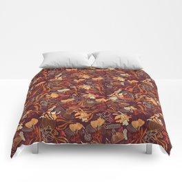 Forest Floor Earthtones Comforters