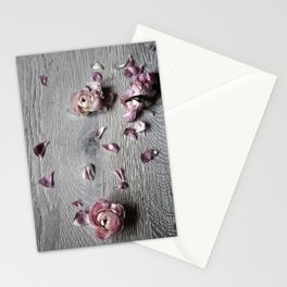 The wild flowers grows here Stationery Cards