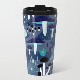 Midnight Mushrooms Travel Mug