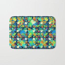 Colorful small circles pattern Bath Mat