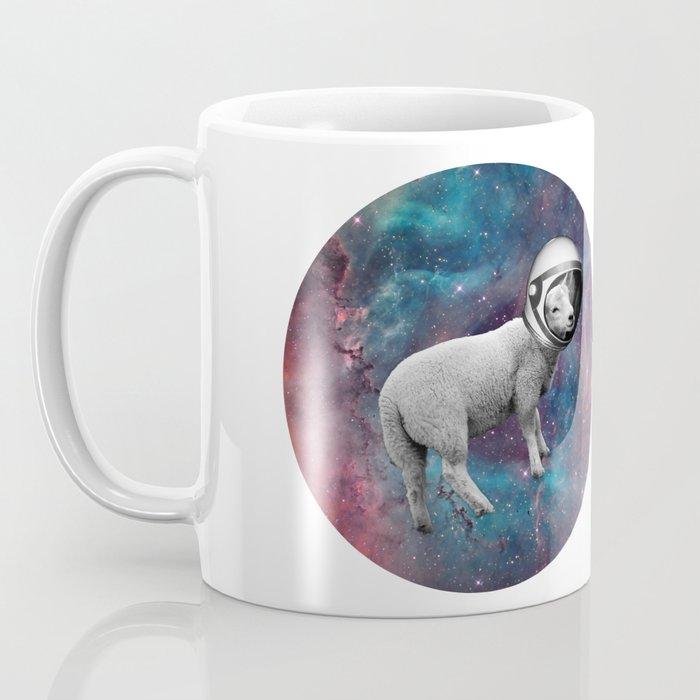 The Space Sheep 2.0 Coffee Mug