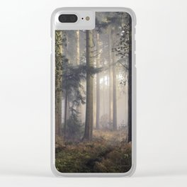 Puddletown Forest Clear iPhone Case