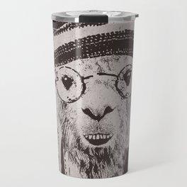 Funky Llama Travel Mug