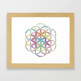 Rosace Framed Art Print