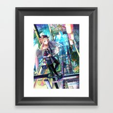 Heavens Architect Framed Art Print