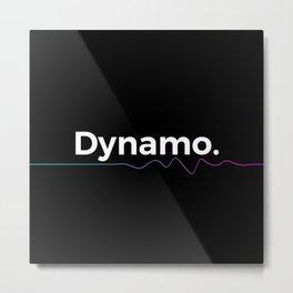 Dynamo Metal Print