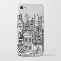seoul iPhone & iPod Cases featuring Seoul Rooftops by Jennifer Stinson