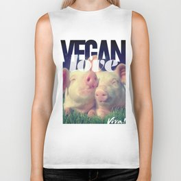 Vegan Love Biker Tank