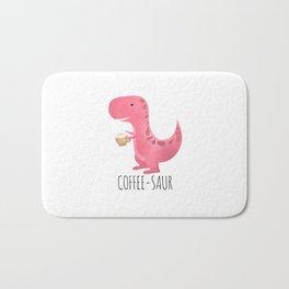 Coffee-saur | Pink Bath Mat