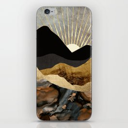 Copper and Gold Mountains iPhone Skin