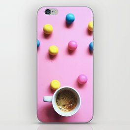 Bubble Gum Coffee iPhone Skin