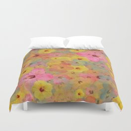 Floral Delight Duvet Cover
