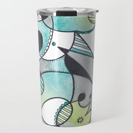 Abstract Critters Travel Mug