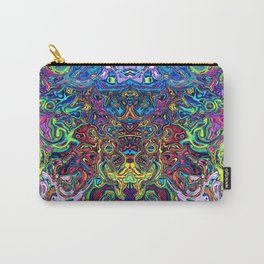 Abstract digital elephant Carry-All Pouch