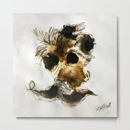 Espresso Nietzsche Metal Print