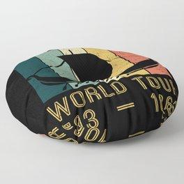 Viking World Tour Vikings Ship Thor Floor Pillow