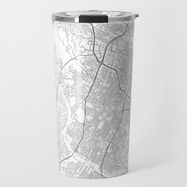 Austin, Texas Minimalist Map Travel Mug