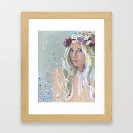 Dream a little Framed Art Print