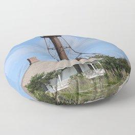 Sanibel Island Light Floor Pillow