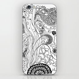 Geometric Stream iPhone Skin