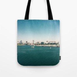 Dowtown Long Beach Tote Bag
