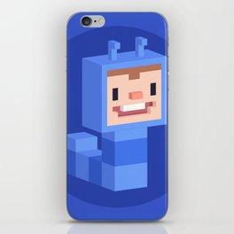 Cute caterpillar character iPhone Skin