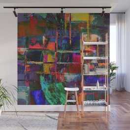 Canvas Abstract Deux Wall Mural