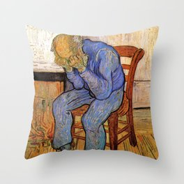 At Eternity's Gate by Vincent van Gogh Throw Pillow