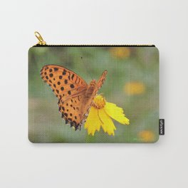 Ms. Indian Fritillary at West Lake Carry-All Pouch
