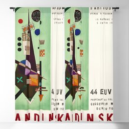 Kandinsky Exhibition poster 1957 Blackout Curtain