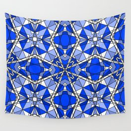 Blue Sapphire Wall Tapestry