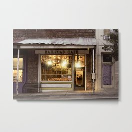 The Old Cafe Metal Print