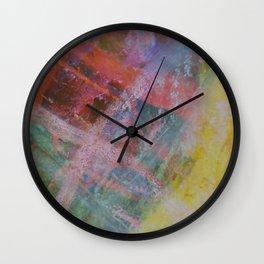 Vetas de colores // Colored streaks Wall Clock