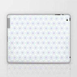 White Floral Industrial Manchester railways Laptop & iPad Skin