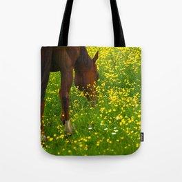 Enjoying The Wildflowers Tote Bag