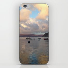 Portree Harbour iPhone Skin