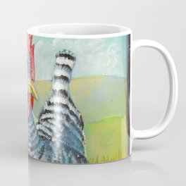 Chicken in the mountains Coffee Mug