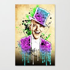 Fred Astaire, new steps.  Canvas Print