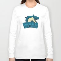 monster hunter Long Sleeve T-shirts featuring Monster Hunter All Stars - Moga Sea Dogs by Bleached ink