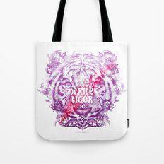 The White Tiger (Savage Version) Tote Bag